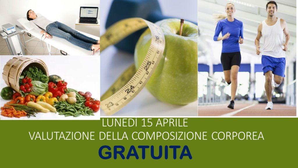 Valutazione della Composizione Corporea- LUNEDI' 15 APRILE dalle 9.00 alle 19.00