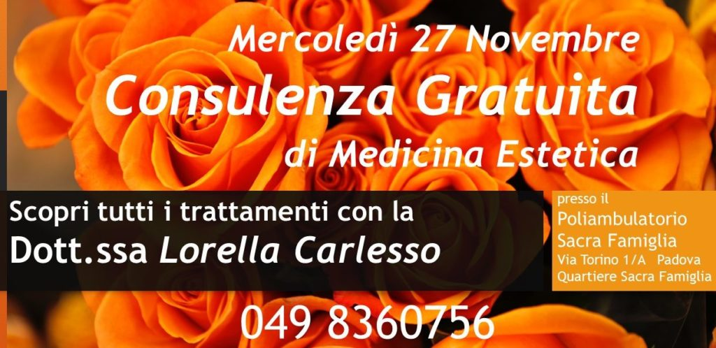 Consulenza Medico Estetica GRATUITA